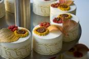 mono desert - modelované květiny, marcipán