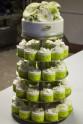 instalace - mono deserty, modelovaný dort