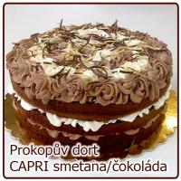 dort CAPRI smetanovo čokoládový