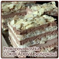 Kostka ČOKOLÁDOVO MANDLOVÁ bezlepková