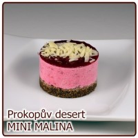 desert MINI – MALINOVÝ fresh
