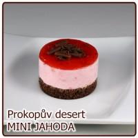 desert MINI – JAHODOVÝ fresh