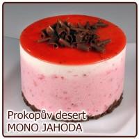 desert MONO – JAHODOVÝ fresh