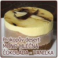 desert MONO – MLÉČNÁ ČOKOLÁDA VANILKA
