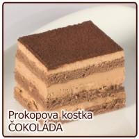kostka ČOKOLÁDOVÁ