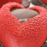 Srdíčko Valentýnské - jahoda / malina