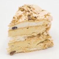 HEDVÁBNÝ KARAMEL - SNĚHULKA - dortový řez