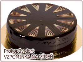 dort VZPOMÍNKA NA VÍDEŇ čokoládový